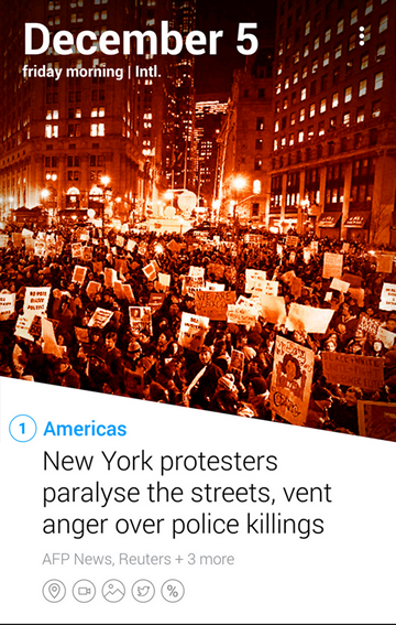 Fonte: YAHOO NEWS DIGEST - Android