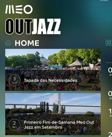 Fonte: MEO OUTJAZZ - Windows Phone