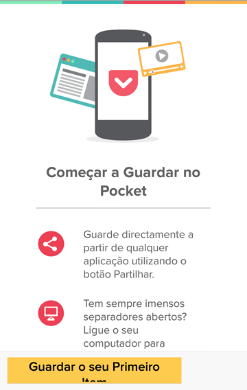 Fonte: POCKET - Android